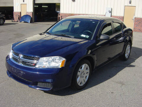 2013 Dodge Avenger for sale at North South Motorcars in Seabrook NH