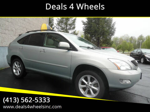 2009 Lexus RX 350 for sale at Deals 4 Wheels in Westfield MA
