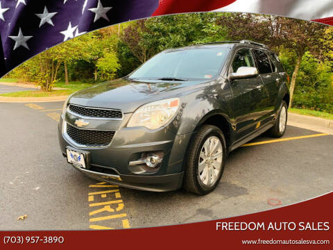 2010 Chevrolet Equinox for sale at Freedom Auto Sales in Chantilly VA