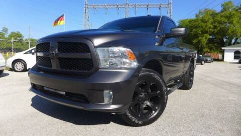 2016 RAM Ram Pickup 1500 for sale at Das Autohaus Quality Used Cars in Clearwater FL