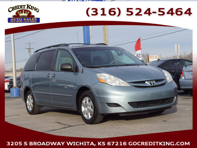 2009 Toyota Sienna for sale at Credit King Auto Sales in Wichita KS