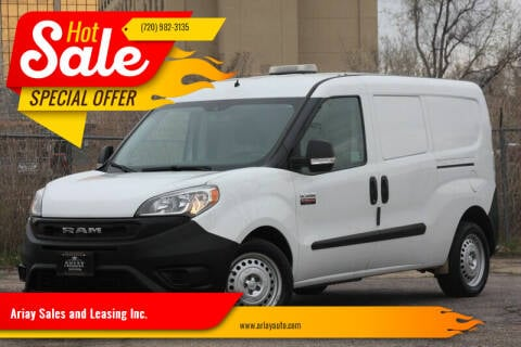 2019 RAM ProMaster City Cargo for sale at Ariay Sales and Leasing Inc. in Denver CO