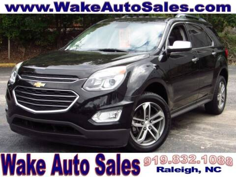 2016 Chevrolet Equinox for sale at Wake Auto Sales Inc in Raleigh NC