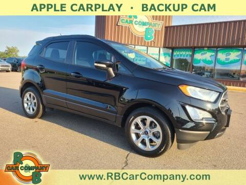2018 Ford EcoSport for sale at R & B Car Co in Warsaw IN