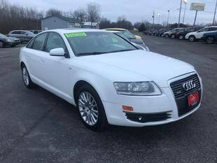 2007 Audi A6 for sale at FUSION AUTO SALES in Spencerport NY
