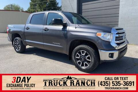 2017 Toyota Tundra for sale at Truck Ranch in Logan UT