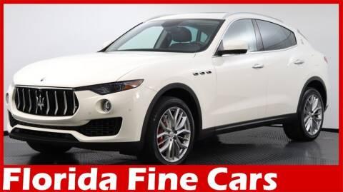 2018 Maserati Levante for sale at Florida Fine Cars - West Palm Beach in West Palm Beach FL