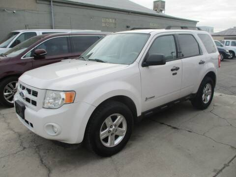 2011 Ford Escape Hybrid for sale at Major Car Inc in Murray UT