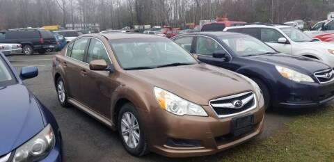 2011 Subaru Legacy for sale at DDK Motors LLC in Rock Hill NY