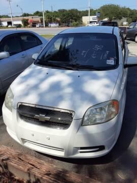 2009 Chevrolet Aveo for sale at Easy Credit Auto Sales in Cocoa FL