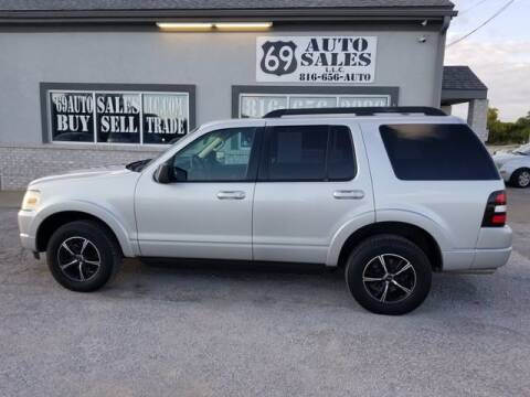 2010 Ford Explorer for sale at 69 Auto Sales LLC in Excelsior Springs MO