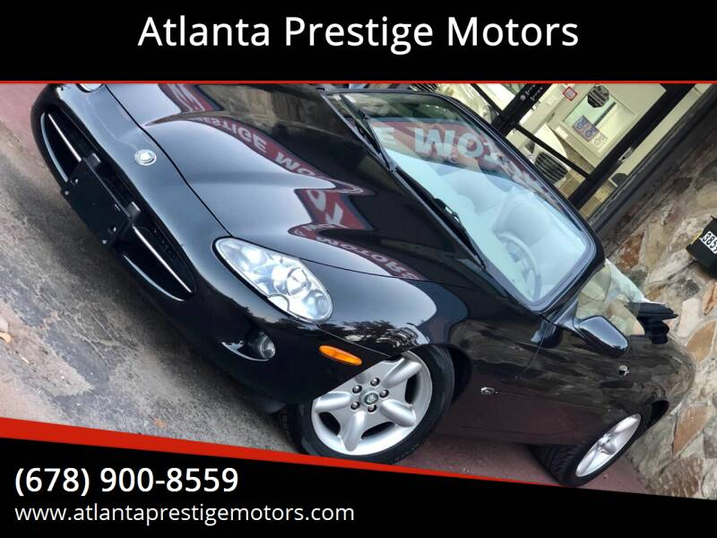 1997 Jaguar XK-Series for sale at Atlanta Prestige Motors in Decatur GA