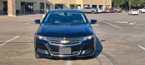 2017 Chevrolet Impala for sale at Nation Auto Cars in Houston TX