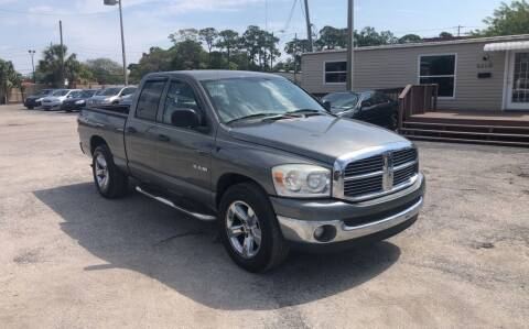 2008 Dodge Ram Pickup 1500 for sale at Friendly Finance Auto Sales in Port Richey FL