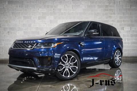 2019 Land Rover Range Rover Sport for sale at J-Rus Inc. in Macomb MI