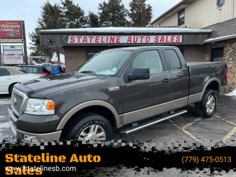 2005 Ford F-150 for sale at Stateline Auto Sales in South Beloit IL