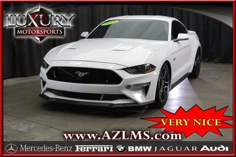 2019 Ford Mustang for sale at Luxury Motorsports in Phoenix AZ