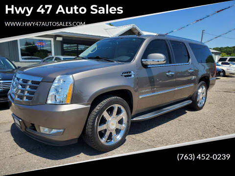 2012 Cadillac Escalade ESV for sale at Hwy 47 Auto Sales in Saint Francis MN