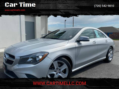 2014 Mercedes-Benz CLA for sale at Car Time in Denver CO