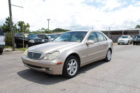 2002 Mercedes-Benz C-Class for sale at Jamrock Auto Sales of Panama City in Panama City FL