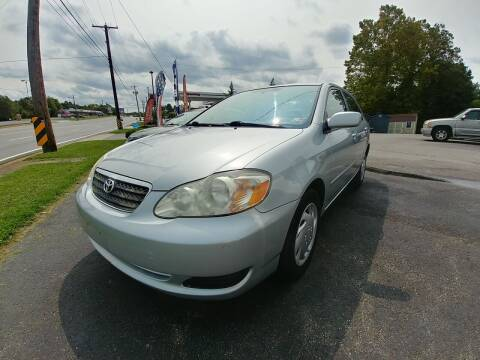2008 Toyota Corolla for sale at Regional Auto Sales in Madison Heights VA