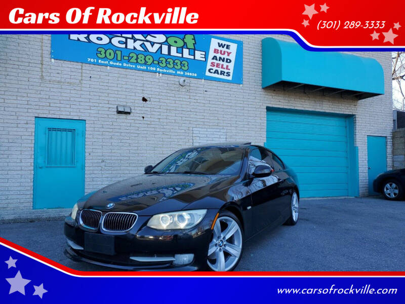 2011 BMW 3 Series for sale at Cars Of Rockville in Rockville MD