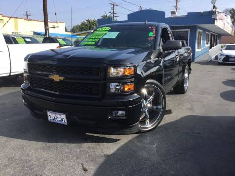 2014 Chevrolet Silverado 1500 for sale at 2955 FIRESTONE BLVD in South Gate CA