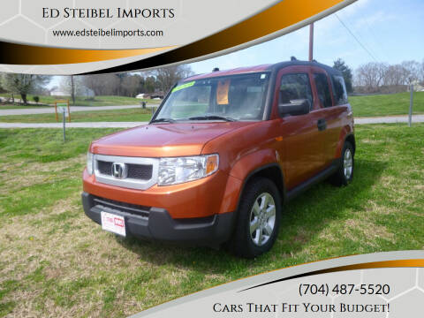 2010 Honda Element for sale at Ed Steibel Imports in Shelby NC