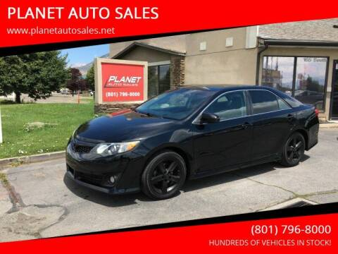 2013 Toyota Camry for sale at PLANET AUTO SALES in Lindon UT
