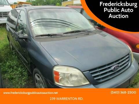 2006 Ford Freestar for sale at FPAA in Fredericksburg VA
