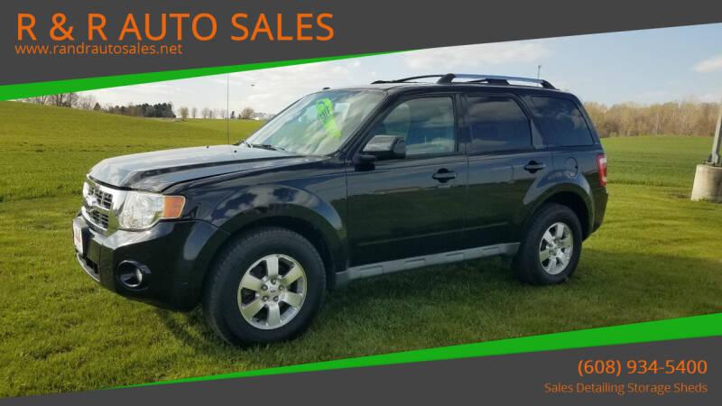 2009 Ford Escape for sale at R & R AUTO SALES in Juda WI