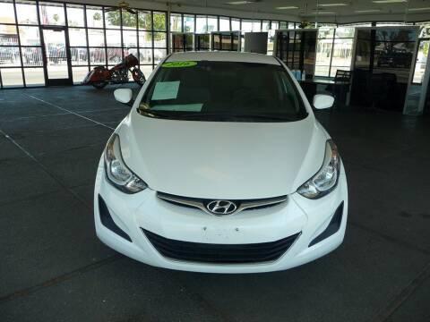 2016 Hyundai Elantra for sale at CENTURY MOTORS in Fresno CA