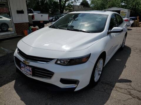 2018 Chevrolet Malibu for sale at New Wheels in Glendale Heights IL