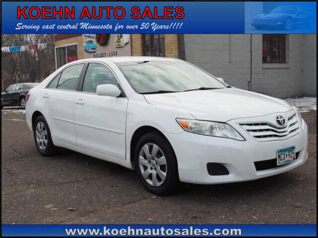 2011 Toyota Camry for sale at Koehn Auto Sales in Lindstrom MN