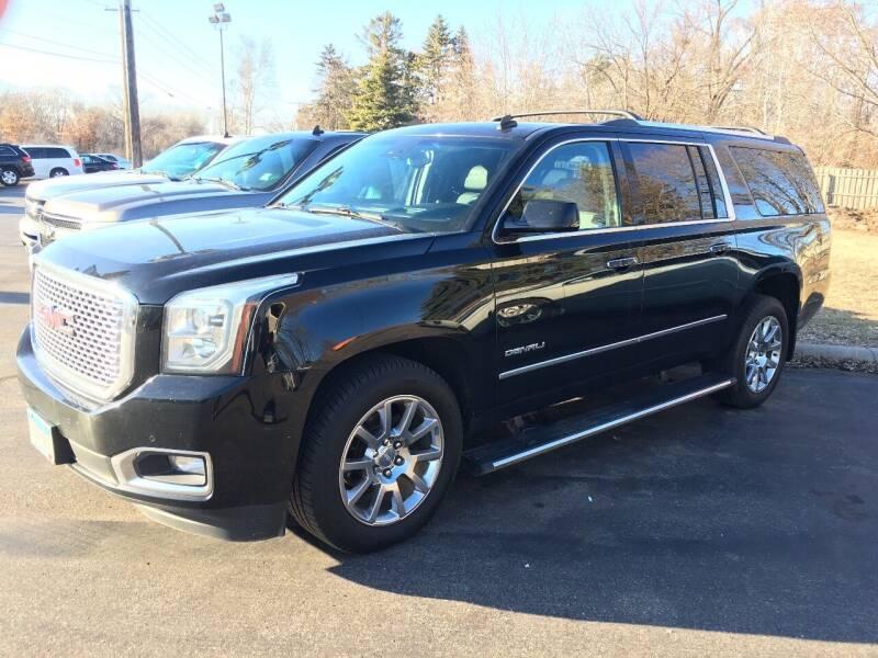 2015 GMC Yukon XL for sale at Premier Motors LLC in Crystal MN