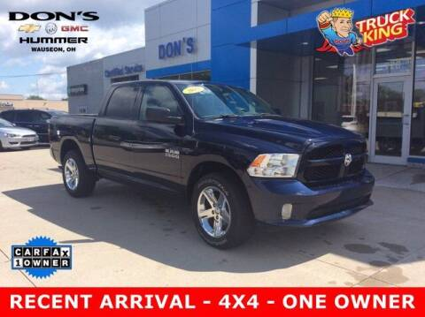 2018 RAM Ram Pickup 1500 for sale at DON'S CHEVY, BUICK-GMC & CADILLAC in Wauseon OH