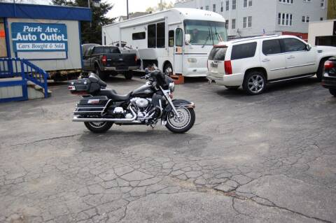 2012 HARLEY DAVIDSON ULTRA CLASSIC for sale at Park Ave Auto Inc. in Worcester MA