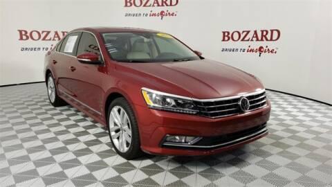 2018 Volkswagen Passat for sale at BOZARD FORD in Saint Augustine FL