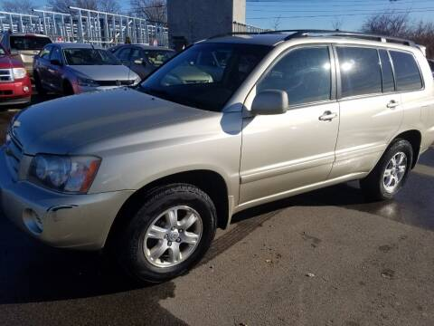 2001 Toyota Highlander for sale at JG Motors in Worcester MA