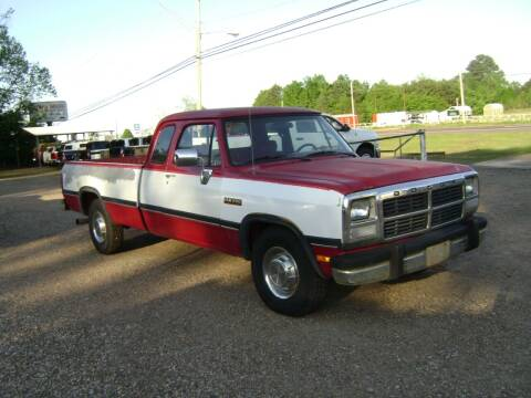 1992 Dodge RAM 250 for sale at Tom Boyd Motors in Texarkana TX