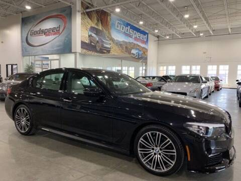 2018 BMW 5 Series for sale at Godspeed Motors in Charlotte NC