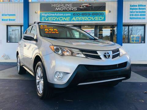 2013 Toyota RAV4 for sale at Highline Motors in Aston PA