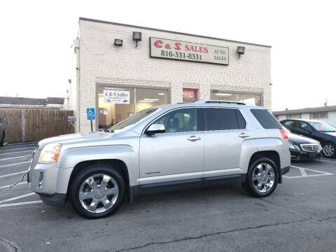 2010 GMC Terrain for sale at C & S SALES in Belton MO
