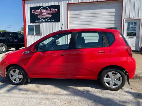 2010 Chevrolet Aveo for sale at Casey Classic Cars in Casey IL