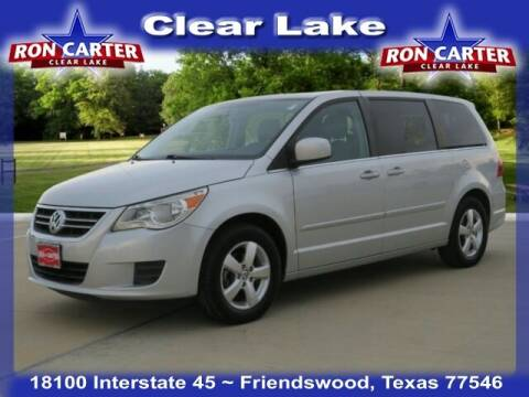 2010 Volkswagen Routan for sale at Ron Carter  Clear Lake Used Cars in Houston TX