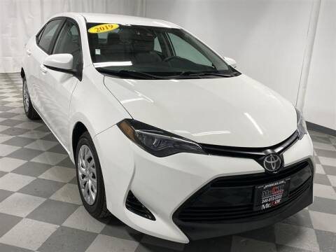 2019 Toyota Corolla for sale at Mr. Car City in Brentwood MD