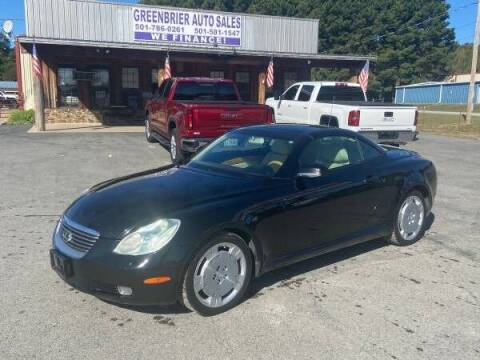 2002 Lexus SC 430 for sale at Greenbrier Auto Sales in Greenbrier AR