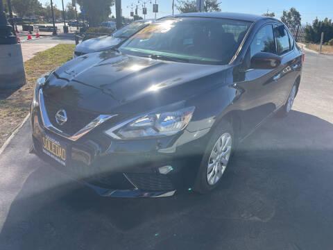 2016 Nissan Sentra for sale at Soledad Auto Sales in Soledad CA