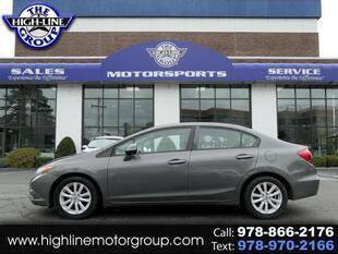 2012 Honda Civic for sale at Highline Group Motorsports in Lowell MA