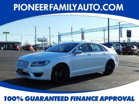 2020 Lincoln MKZ for sale at Pioneer Family auto in Marietta OH